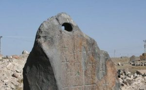 Anclas de piedra encontradas en el monte Ararat
